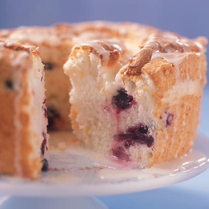Blueberry Angel Food Cake Recipe Myrecipes
