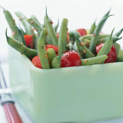 beans green bean and cherry tomato green bean and cherry tomato cherry ...