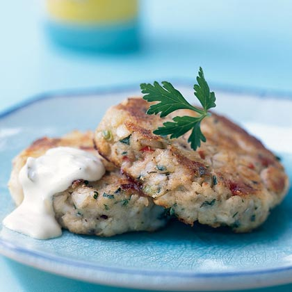 Potato Cod Cakes with Dijon Tartar Sauce Recipe