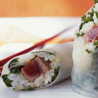 Tuna Summer Rolls Recipe