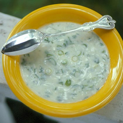 Scallion-Cilantro Raita