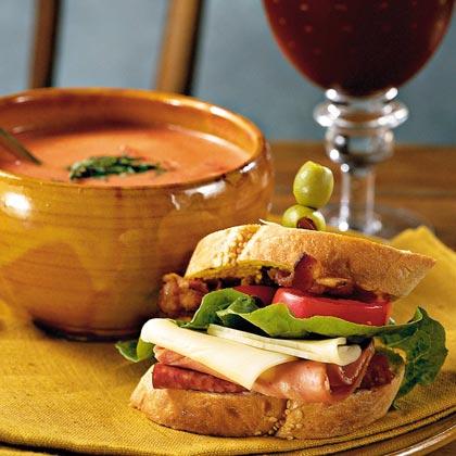 Italian BLT SandwichesRecipe