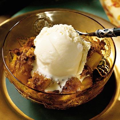 Tropical Pineapple Crisp Recipe