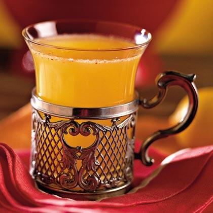 Apricot-Apple Cider Sipper Recipe