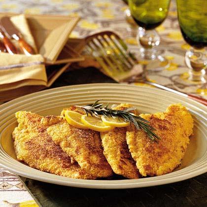 Fried Lemon-Rosemary Catfish