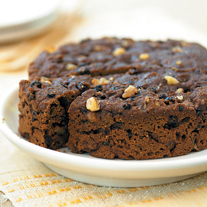 Steamed Brown Bread with Currants and WalnutsRecipe