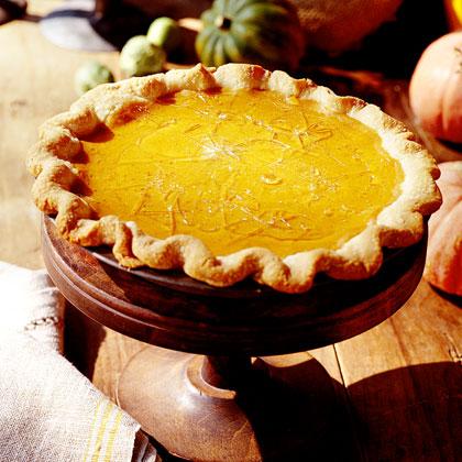 Cracked Caramel-Pumpkin Pie