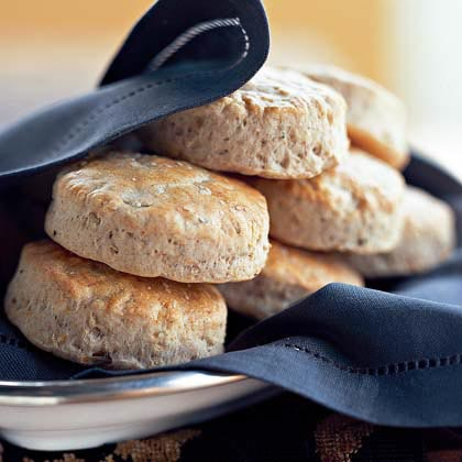 Herb and Onion Wheat Biscuits