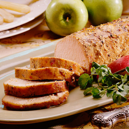 Honey-Roasted Pork
