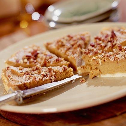 Sweet Potato-Bourbon Tart