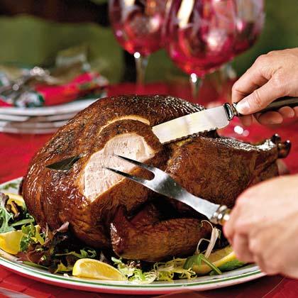 Hickory-Smoked Bourbon Turkey