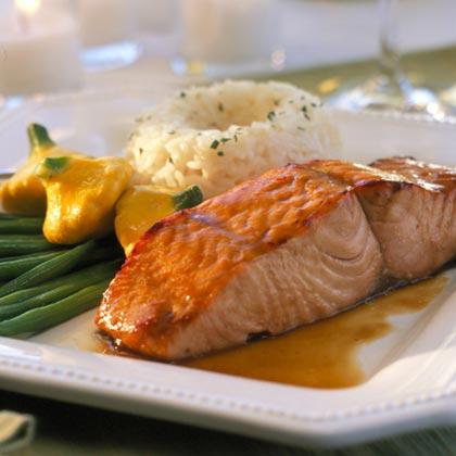 Mango-glazed Salmon