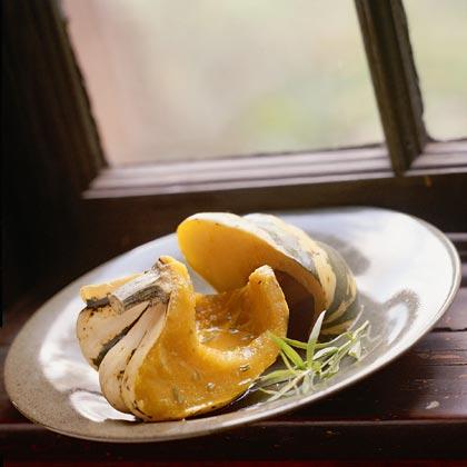 Sweet Dumpling Squash With Citrus-Herb Sauce