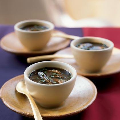 Sherried Mushroom Soup Recipe