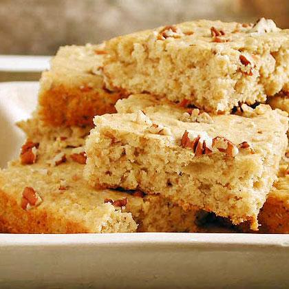 Oats and Buttermilk Snack Cake Recipe