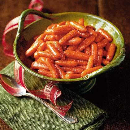 Pepper Jelly-Glazed Carrots