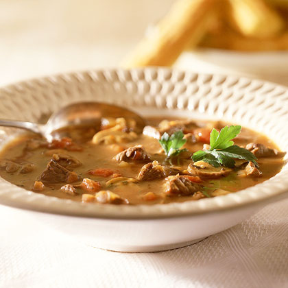 Beef-and-Mushroom Stew Recipe