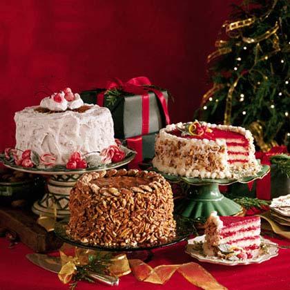 Cranberry-Ambrosia Cake Recipe