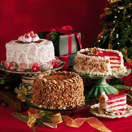 Praline Cream CakeRecipe