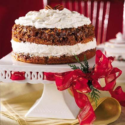 Praline-Pumpkin Torte