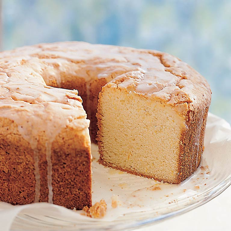 Sour Cream-Lemon Pound Cake Recipe | MyRecipes.com