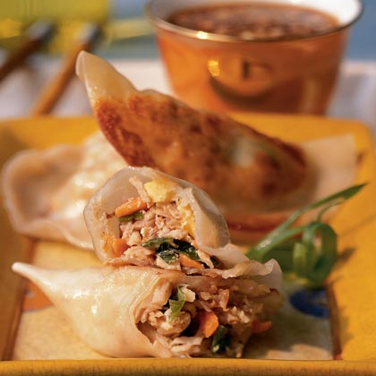 Turkey Pot Stickers Recipe