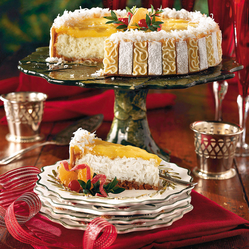Ambrosia Cheesecake