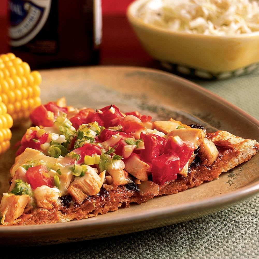 <p>BBQ Chicken Pizza</p>