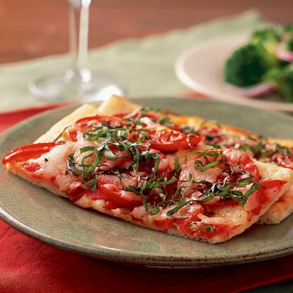 <p>Quick Pizza Margherita</p>