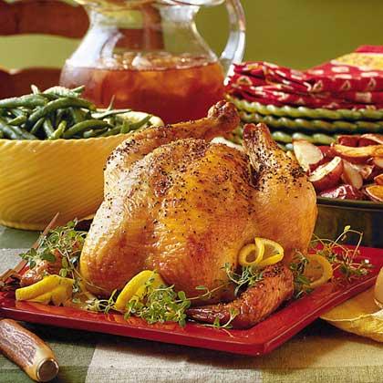 Lemon-Thyme Roasted Chicken