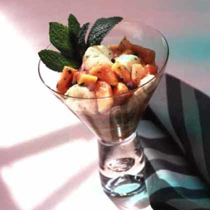 Scallop-Papaya Seviche