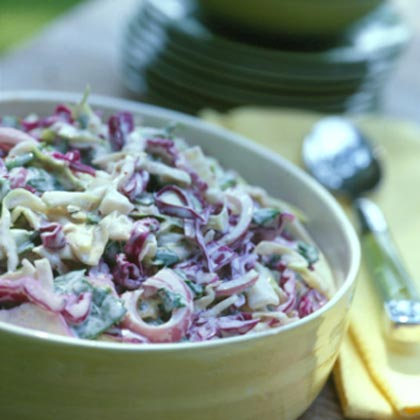 Spinach Coleslaw Recipe