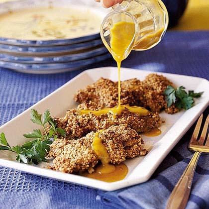 Honey-Pecan Chicken Thighs
