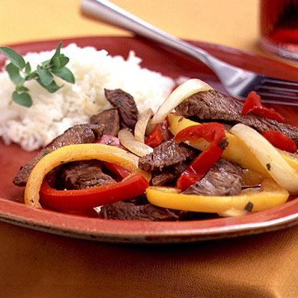 Fiesta Pepper Steak