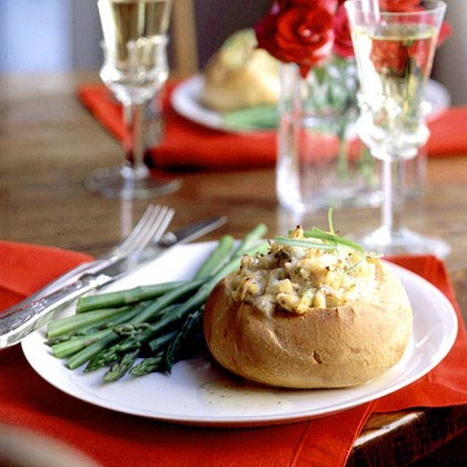 Deviled Crab Boules with Beurre Blanc