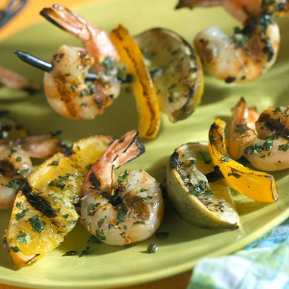 Tequila Shrimp and Citrus