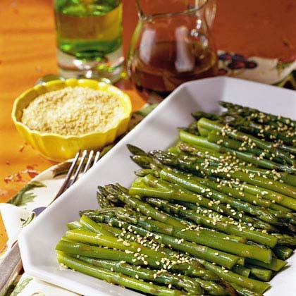 Chilled Sesame Asparagus