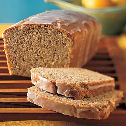 Lemon-Flaxseed Loaf Cake Recipe