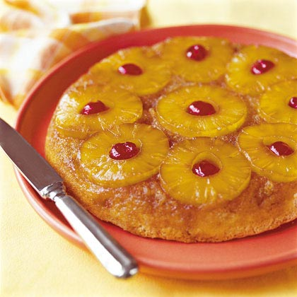 Skillet Pineapple Upside-Down CakeRecipe