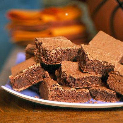 Bourbon Fudge Brownies