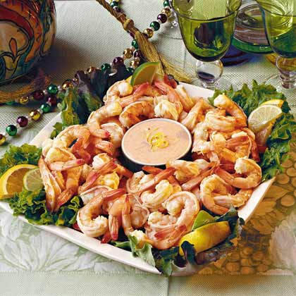 Citrus-Marinated Shrimp with Louis Sauce