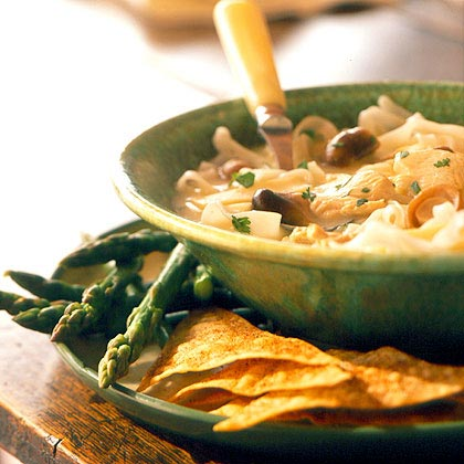 Hot-and-Sour Chicken Noodle SoupRecipe