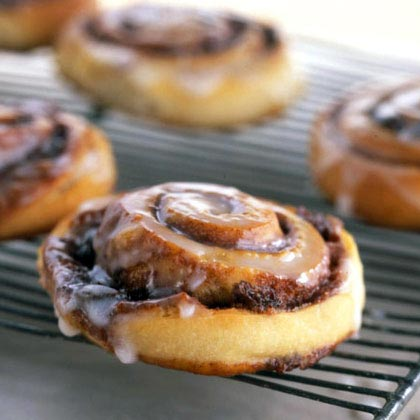 Triple-Play Cinnamon Rolls