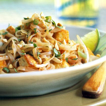 Vegetarian Pad Thai Recipe | MyRecipes