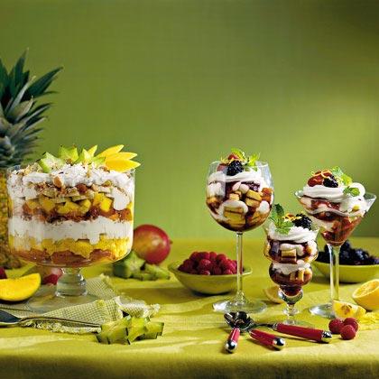 Tropical Rum Trifle