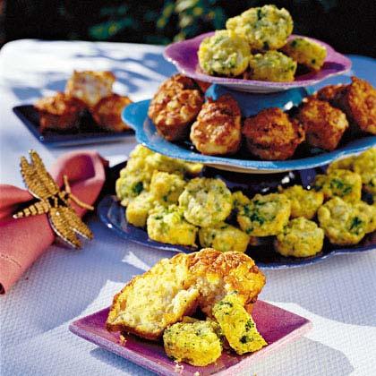 Broccoli Cornbread Muffins Recipe