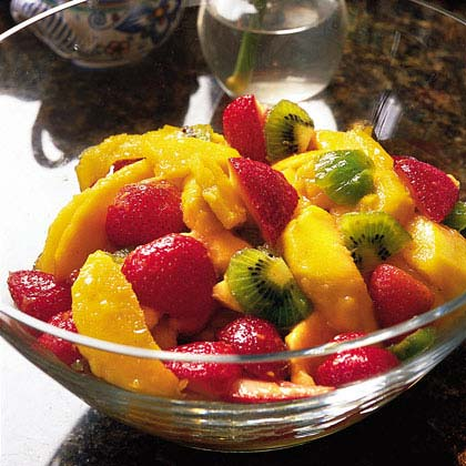 Mixed Fruit Marinated with Kirsch