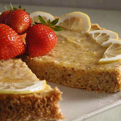 Almond-Lemon Torte Recipe | MyRecipes