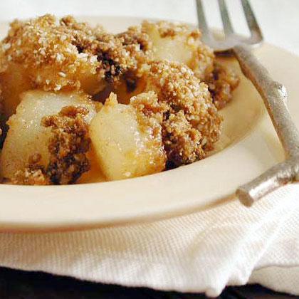 Passover Pear-Ginger Crisp