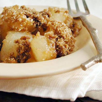 Passover Pear-Ginger Crisp Recipe